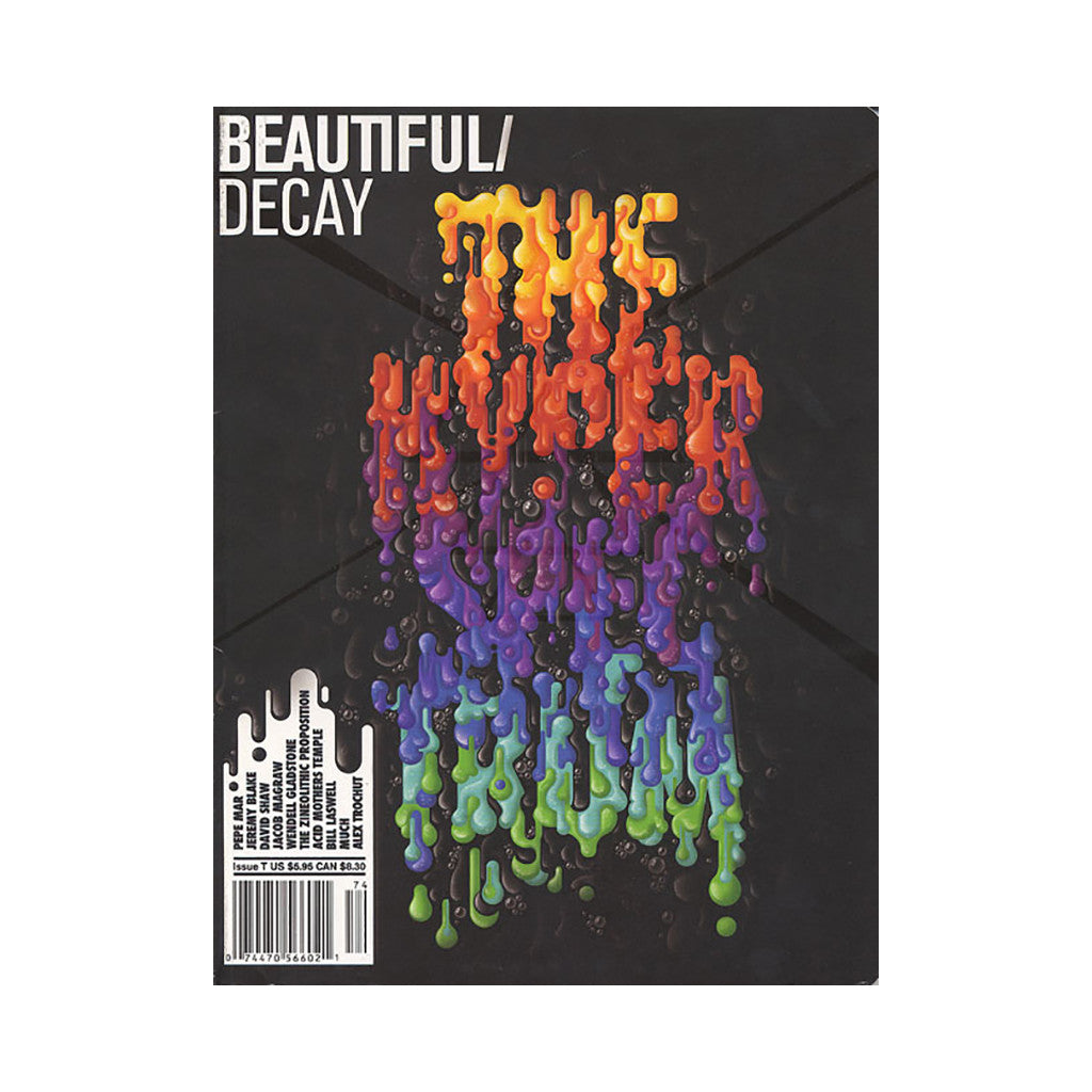 <!--020070904010570-->Beautiful Decay - 'Issue T' [Magazine]