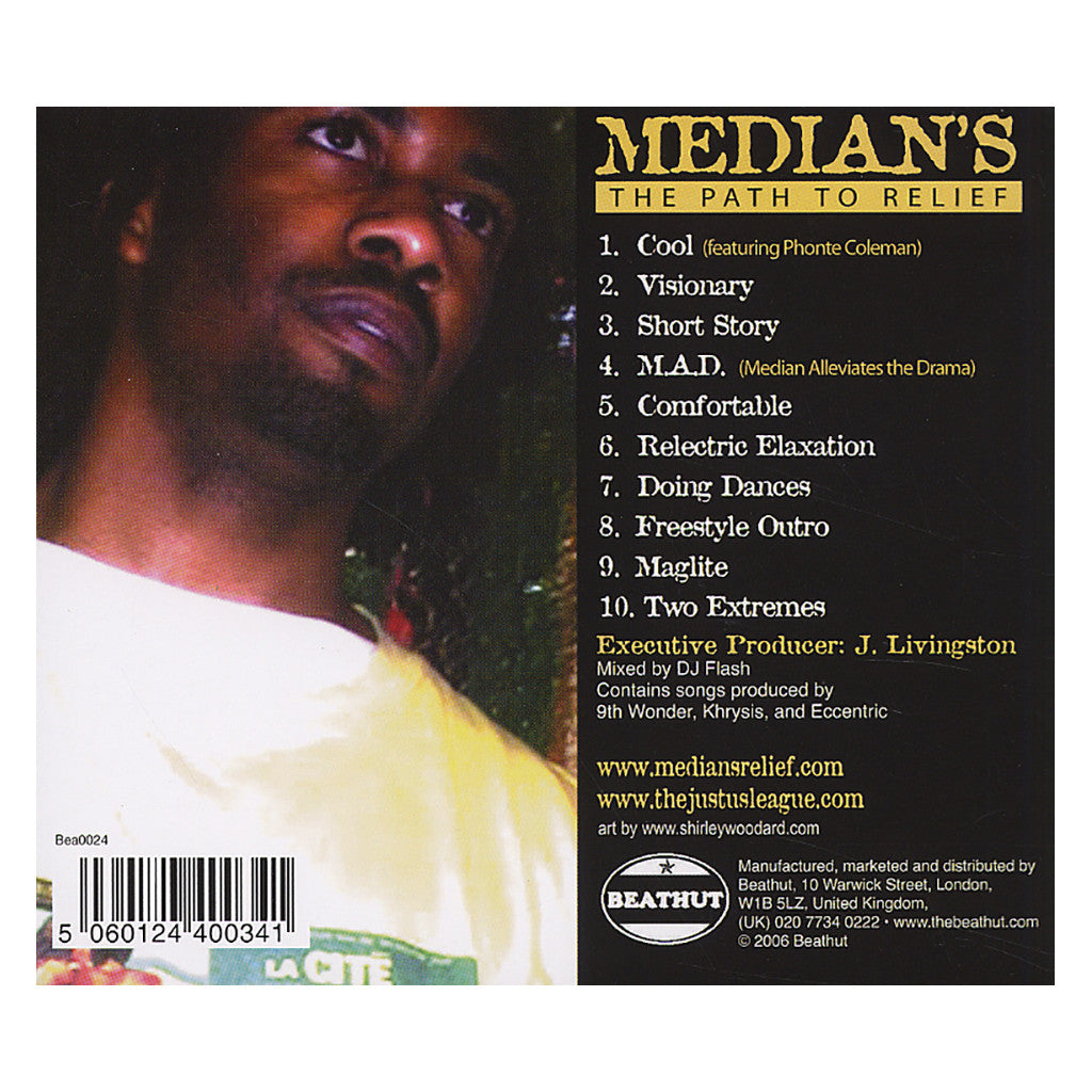 <!--120060711007234-->Median - 'The Path To Relief (Revisited)' [CD]
