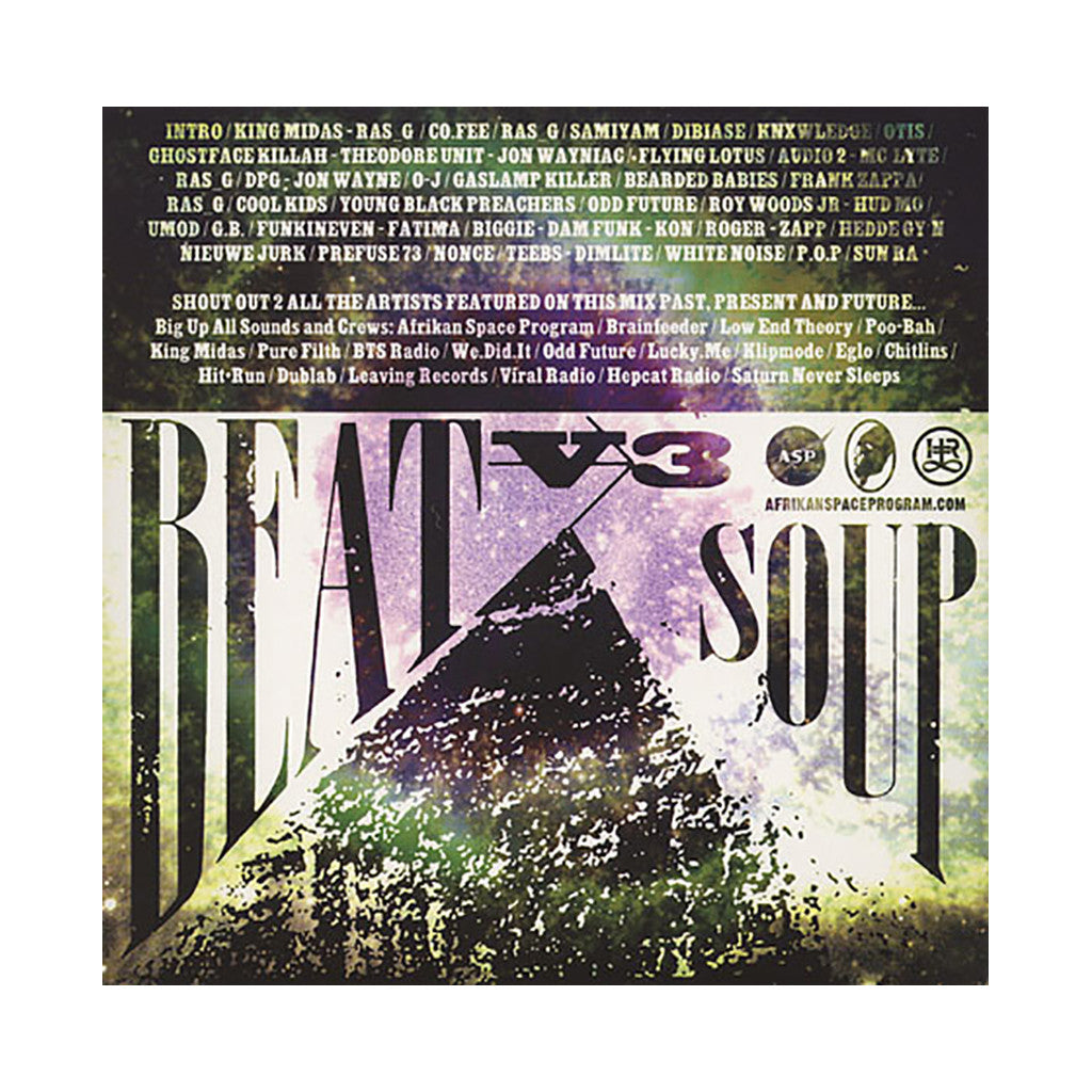 <!--020110111027169-->Ras G - 'Beat Soup Vol. 3' [CD]
