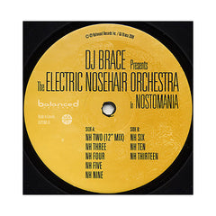 DJ Brace Presents The Electric Nosehair Orchestra - 'Nostomania Sampler EP' [(Black) Vinyl EP]