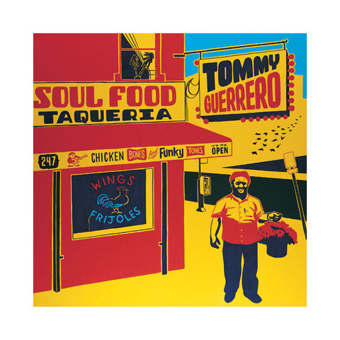 "[""Tommy Guerrero - 'Soul Food Taqueria' [(Black) Vinyl [2LP]]""]"