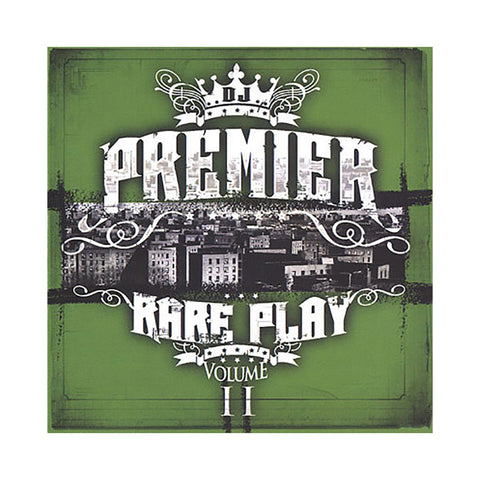 "[""DJ Premier - 'Rare Play Vol. 2' [CD]""]"