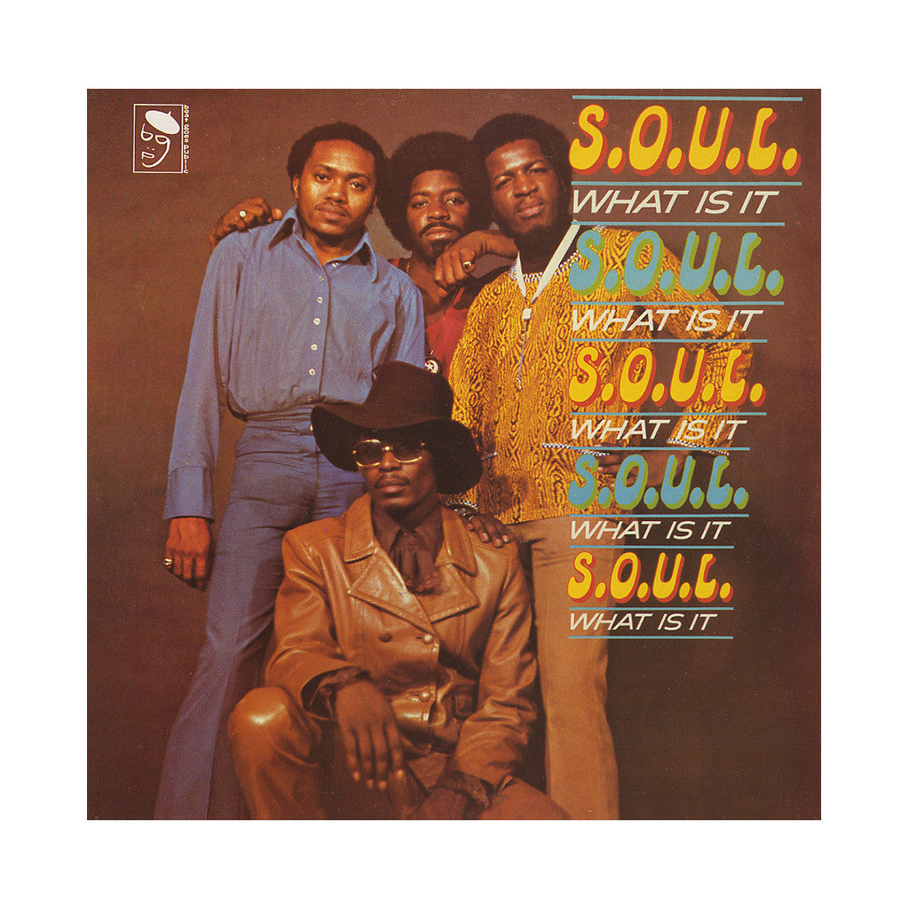 <!--119940627001374-->S.O.U.L. - 'What Is It' [(Black) Vinyl LP]