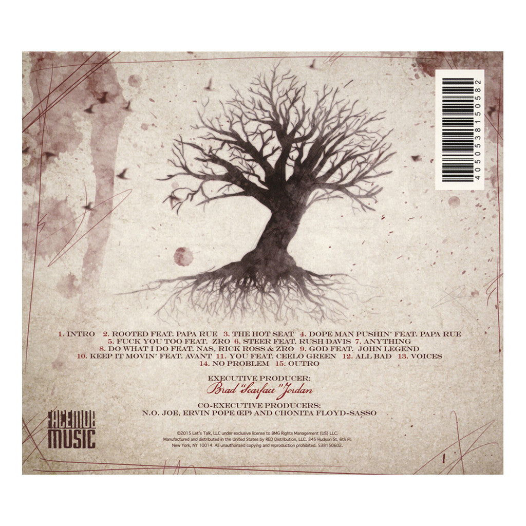 <!--120150904070145-->Scarface - 'Deeply Rooted' [CD]