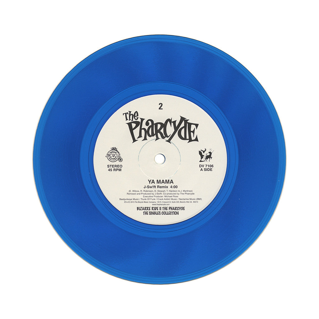 "The Pharcyde - 'Ya Mama (J-Swift Remix)' [(Clear Blue) 7"" Vinyl Single]"