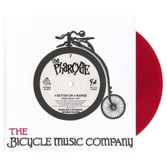 "The Pharcyde - '4 Better Or 4 Worse (The Bicycle Music Company)' [(Clear Red) 7"" Vinyl Single]"