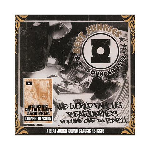 Babu (Hosted By: J. Rocc of Beat Junkies) - 'World Famous Beat Junkies Vol. 1' [CD [2CD]]