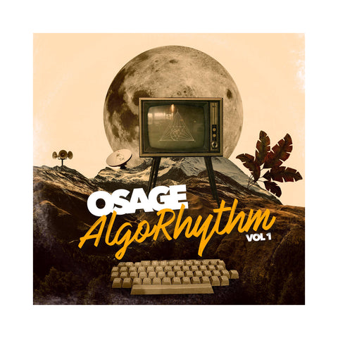 "[""Osage - 'AlgoRhythm' [(Black) 12\"" Vinyl Single]""]"