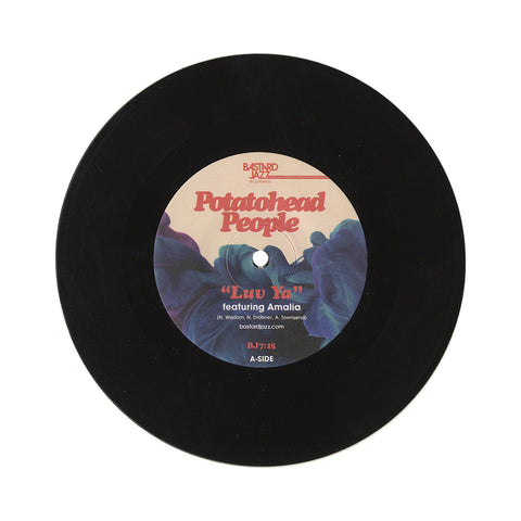 "Potatohead People - 'Luv Ya/ Blue Charms' [(Black) 7"" Vinyl Single]"