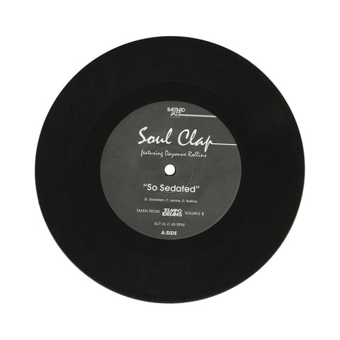 "Soul Clap b/w Sphynx - 'So Sedated b/w Azul' [(Black) 7"" Vinyl Single]"