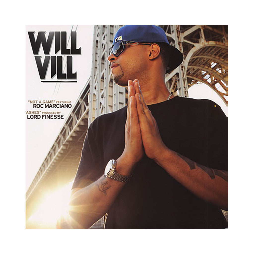 "<!--020110503027639-->Will Vill - 'Not A Game/ Ashes' [(Black) 12"" Vinyl Single]"