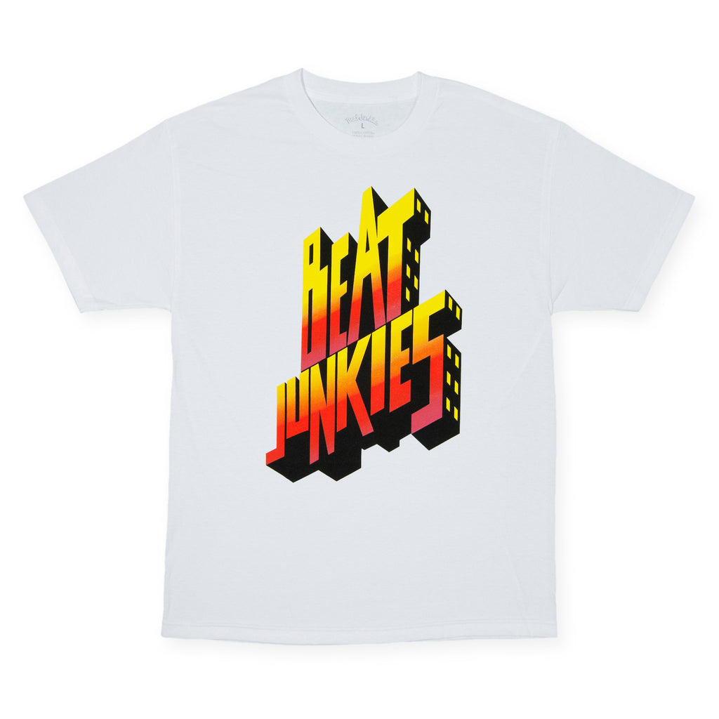 <!--020140708064578-->Beat Junkies - 'Junkies Revenge' [(White) T-Shirt]