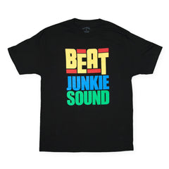 <!--020140708064560-->Beat Junkies - 'Strictly Junkies' [(Black) T-Shirt]