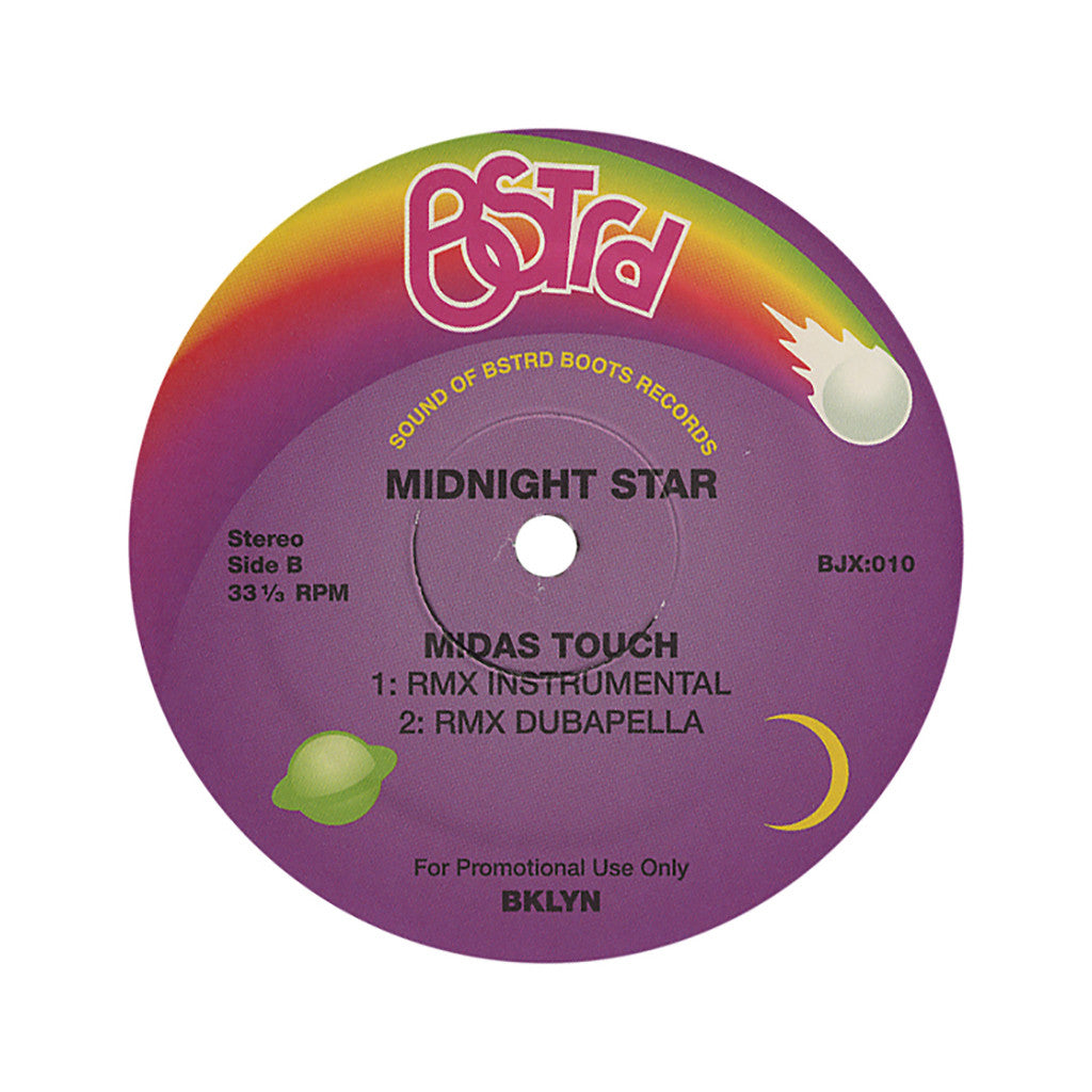 "Midnight Star - 'Midas Touch (DJ Platurn Remix)' [(Black) 12"" Vinyl Single]"