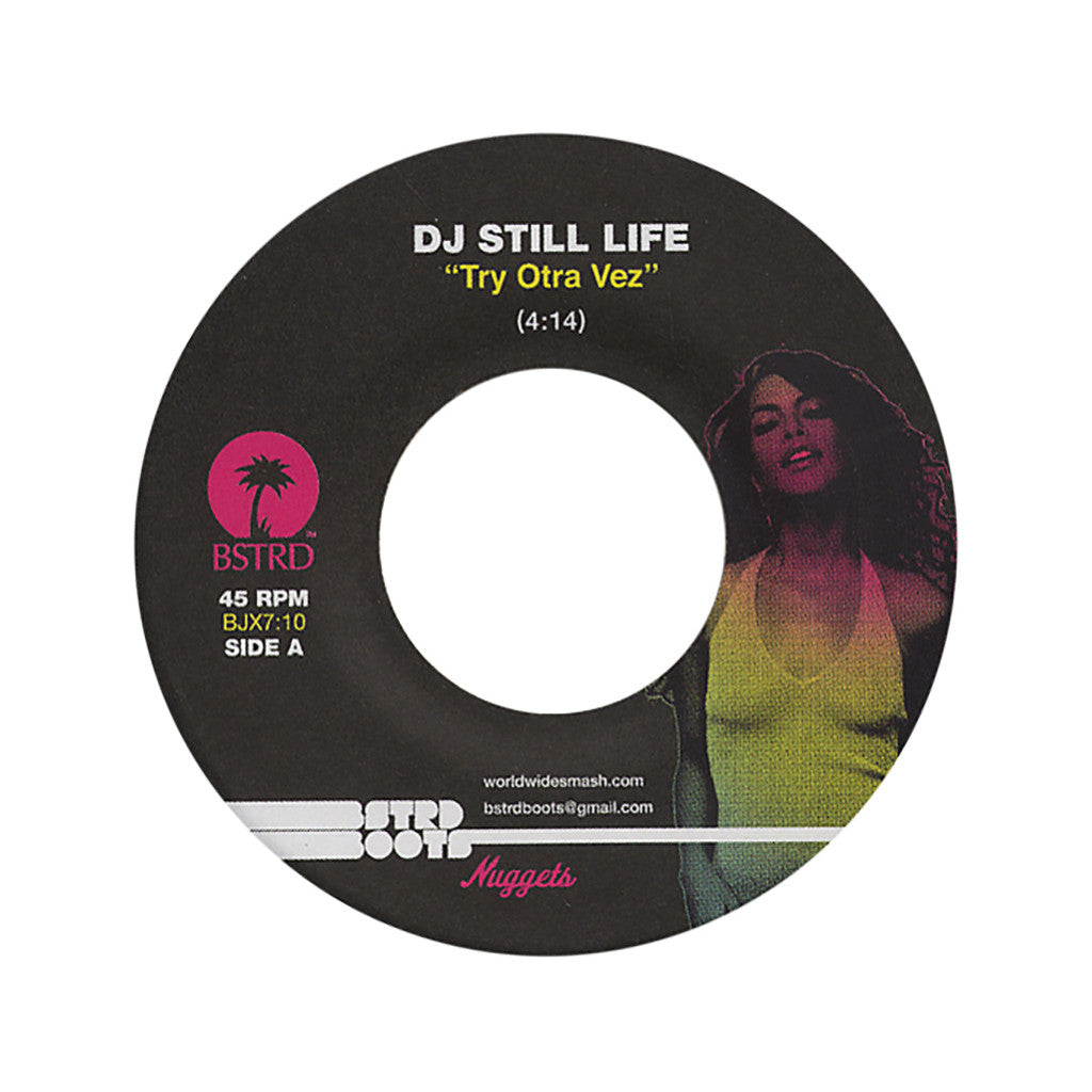 "DJ Still Life - 'Try Otra Vez' [(Black) 7"" Vinyl Single]"