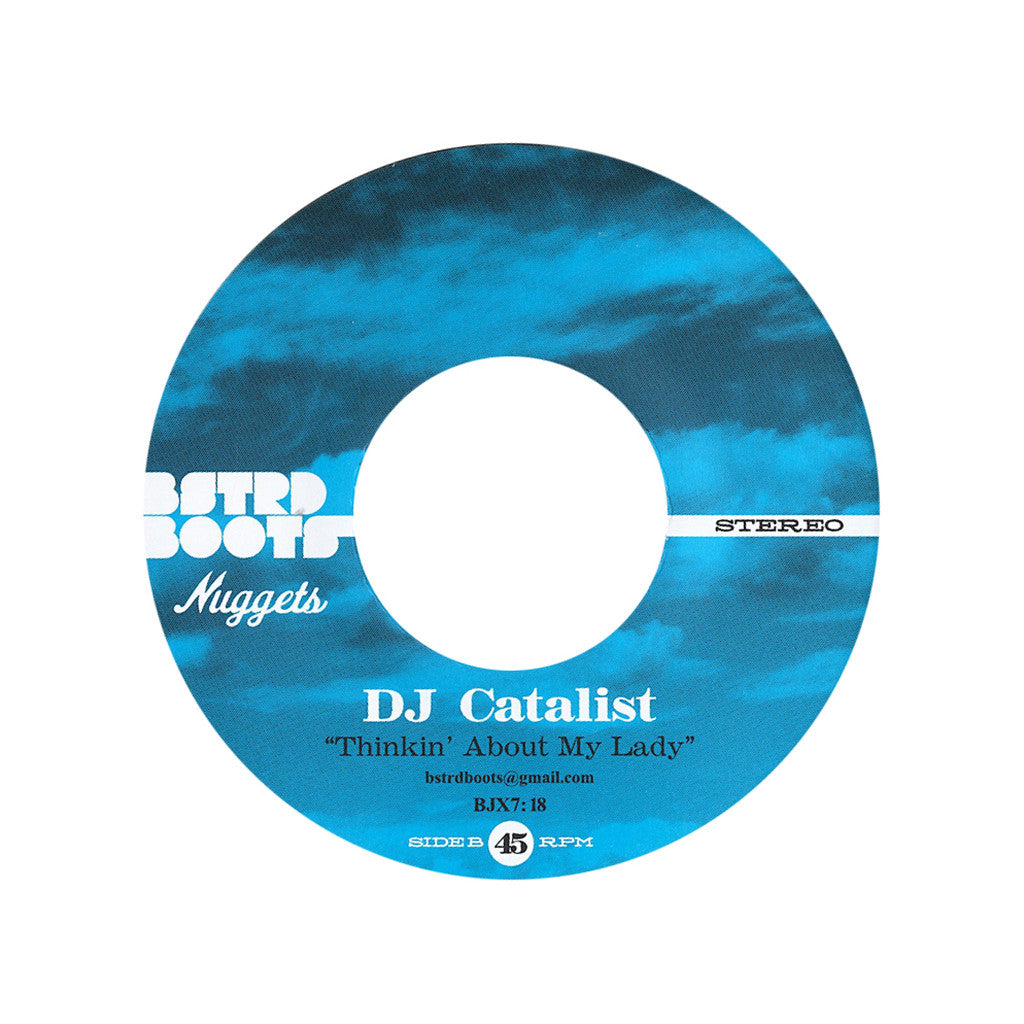 "<!--020130430054390-->DJ Catalist - 'Girl I'm Goin' Back/ Thinkin' About My Lady' [(Black) 7"" Vinyl Single]"