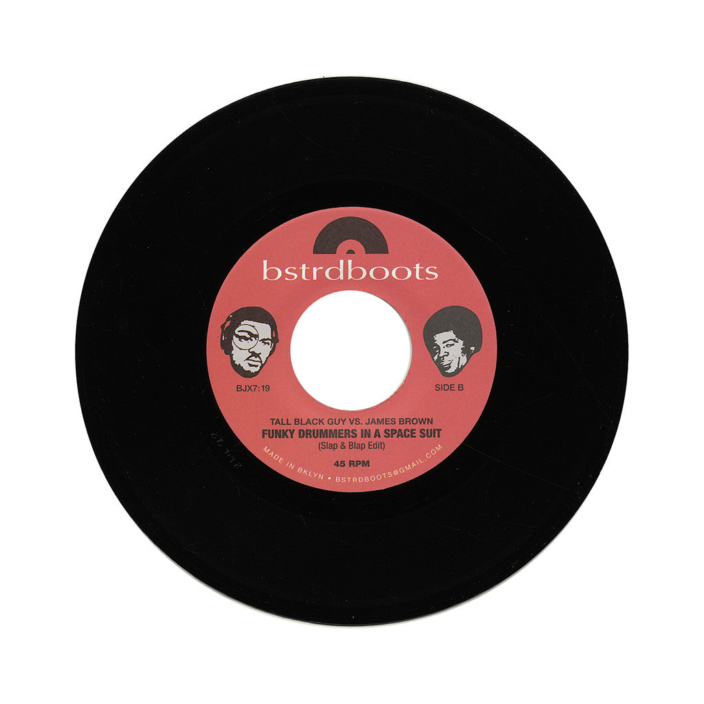 "<!--020140121060440-->Tall Black Guy - 'Tall Black Guy vs. James Brown: Pay Me Back My Money/ Funky Drummers In A Space Suit' [(Black) 7"" Vinyl Single]"