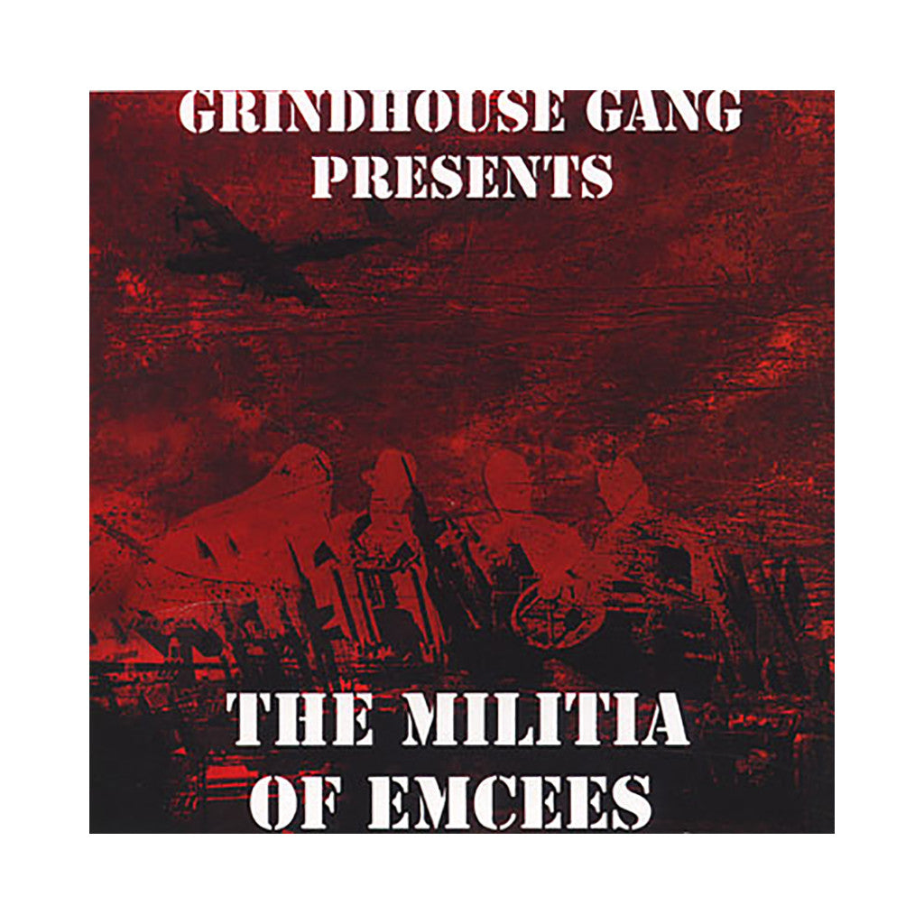 <!--020110322028432-->Grindhouse Gang - 'The Militia Of Emcees' [CD]