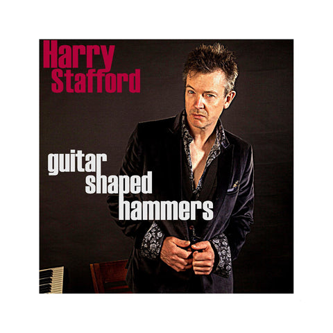 "[""Harry Stafford - 'Guitar Shaped Hammers' [(Black) Vinyl LP]""]"