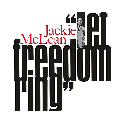 "[""Jackie McLean - 'Let Freedom Ring' [(Black) Vinyl LP]""]"