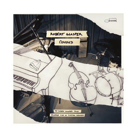 Robert Glasper - 'Covered: The Robert Glasper Trio Recorded Live At Capitol Studios' [(Black) Vinyl [2LP]]