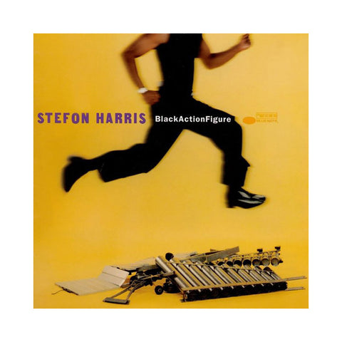 Stefon Harris - 'Black Action Figure' [(Black) Vinyl LP]