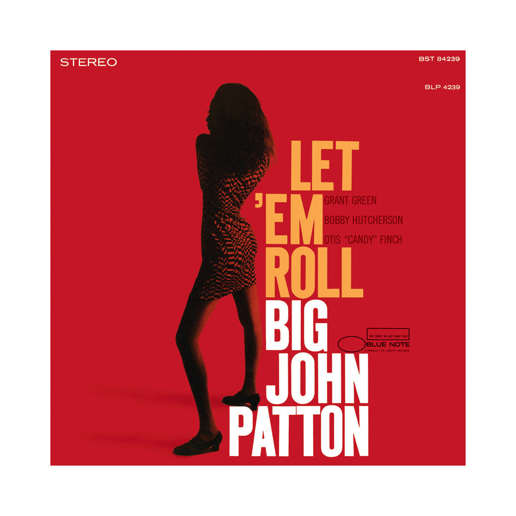 Big John Patton - 'Let 'Em Roll' [(Black) Vinyl LP]