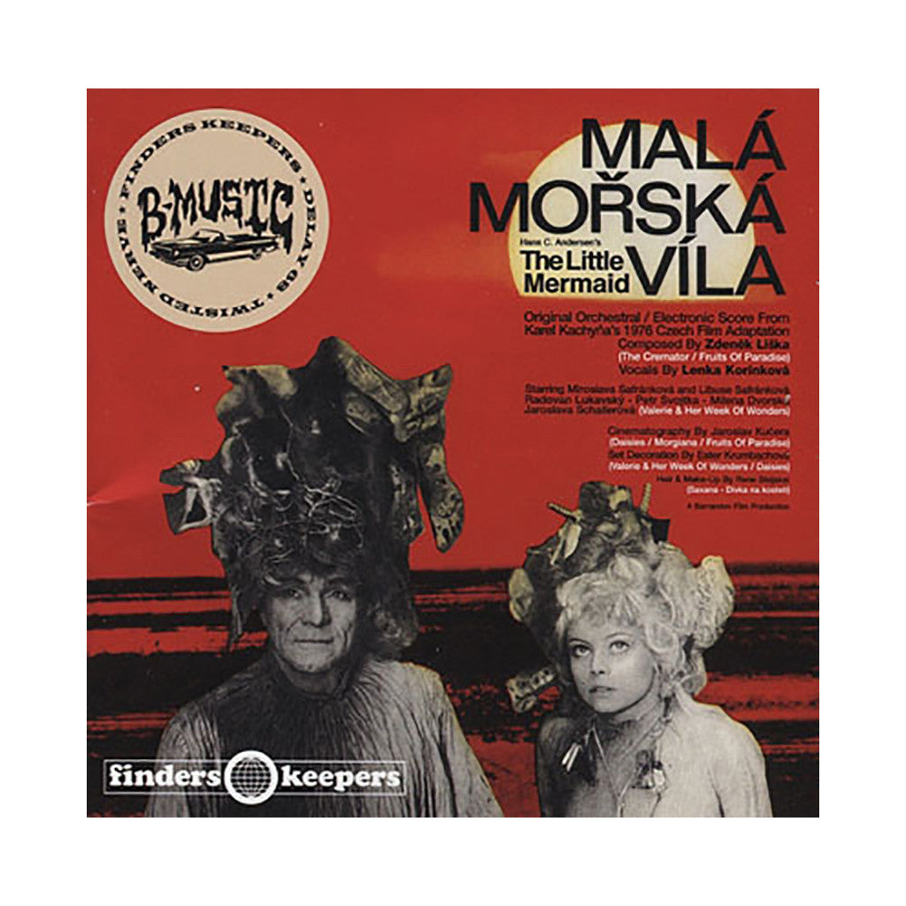 Zdenek Liska w/ Lenka Korinkova - 'Mala Morska Vila: Original Orchestral/ Electronic Film Score for The Little Mermaid' [CD]