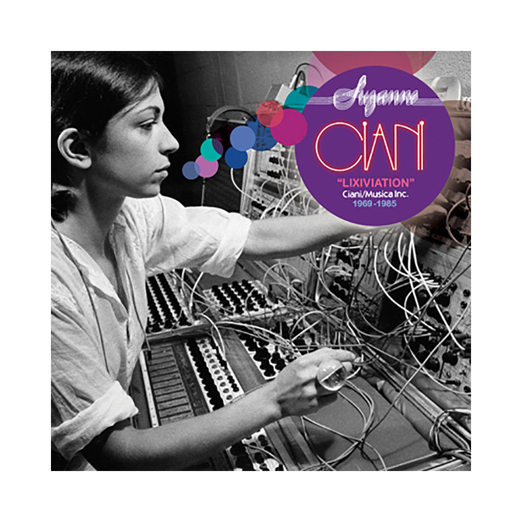 <!--120120228040656-->Suzanne Ciani - 'Lixiviation' [CD]