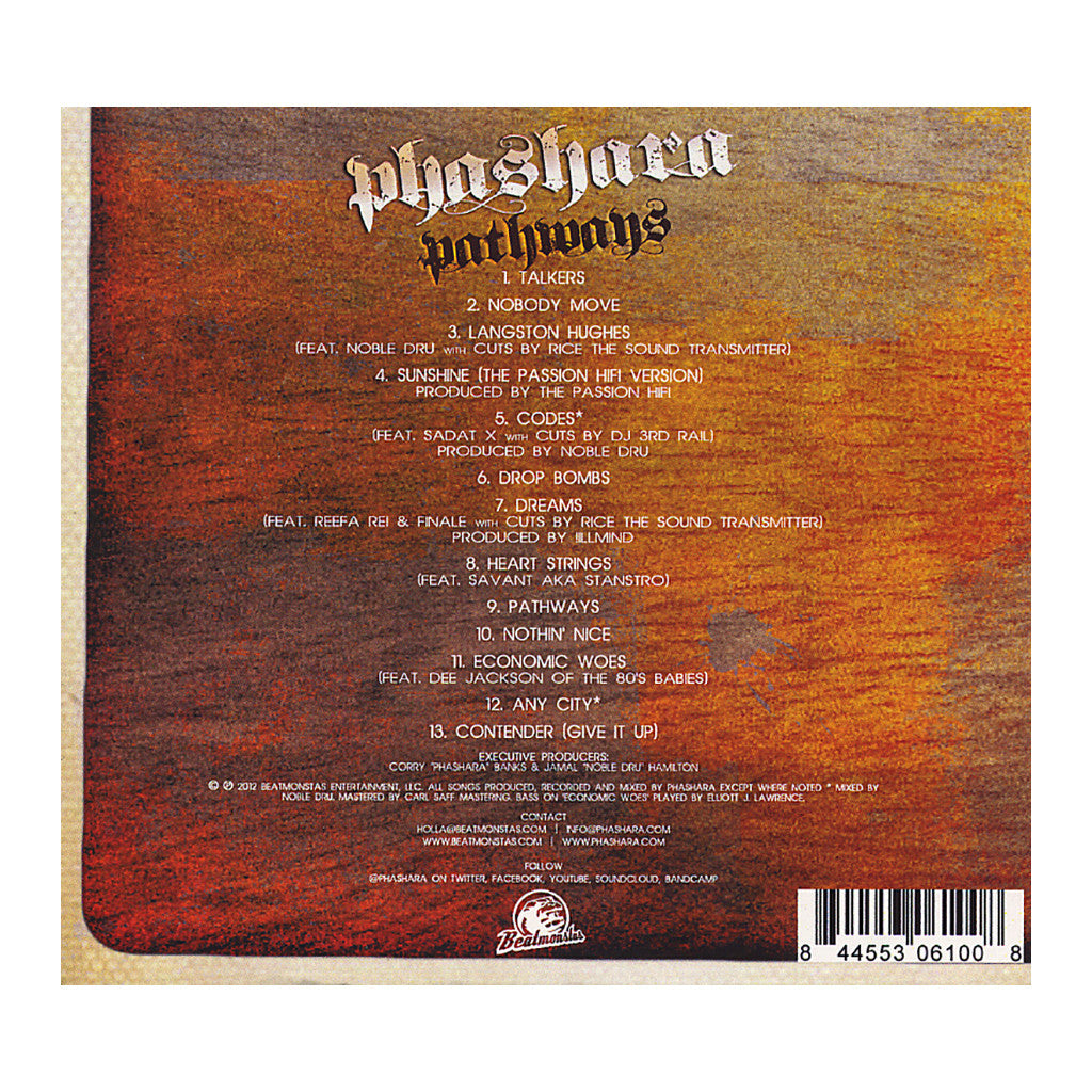 <!--020120612045603-->Phashara - 'Pathways' [CD]