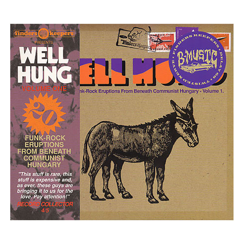 Various Artists - 'Well Hung: Funk-Rock Eruptions From Beneath Communist Hungary Vol. 1' [CD]