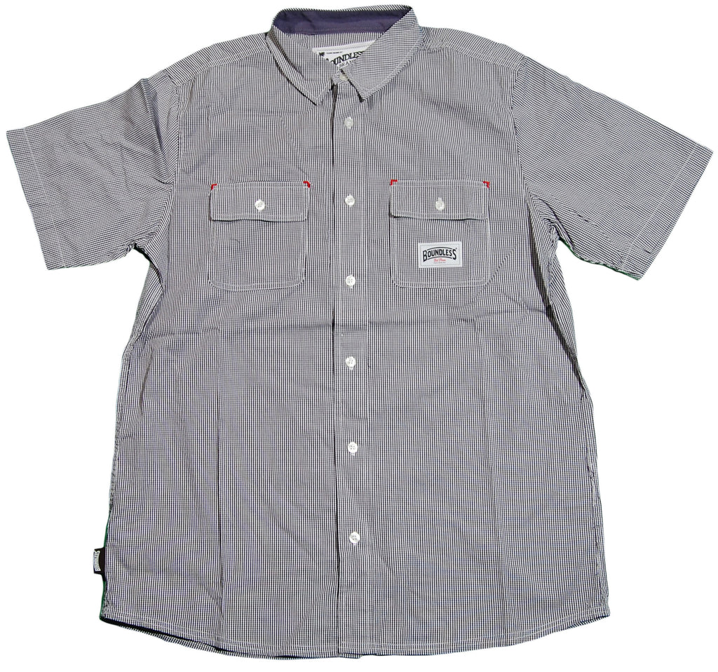 <!--2011052416-->Boundless NY - 'The Square' [(Dark Gray) Button Down Shirt]