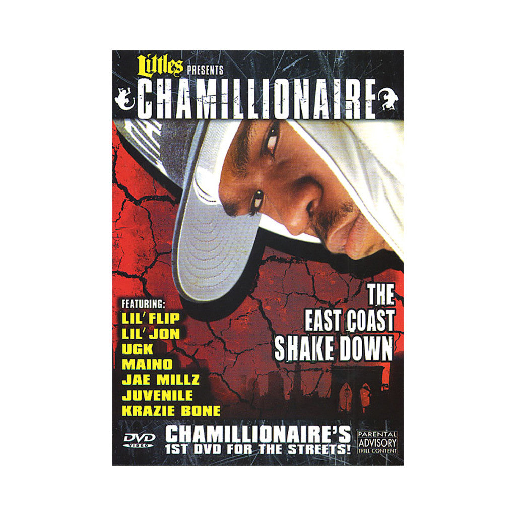 <!--120060711007538-->Chamillionaire - 'The East Coast Shake Down' [DVD]