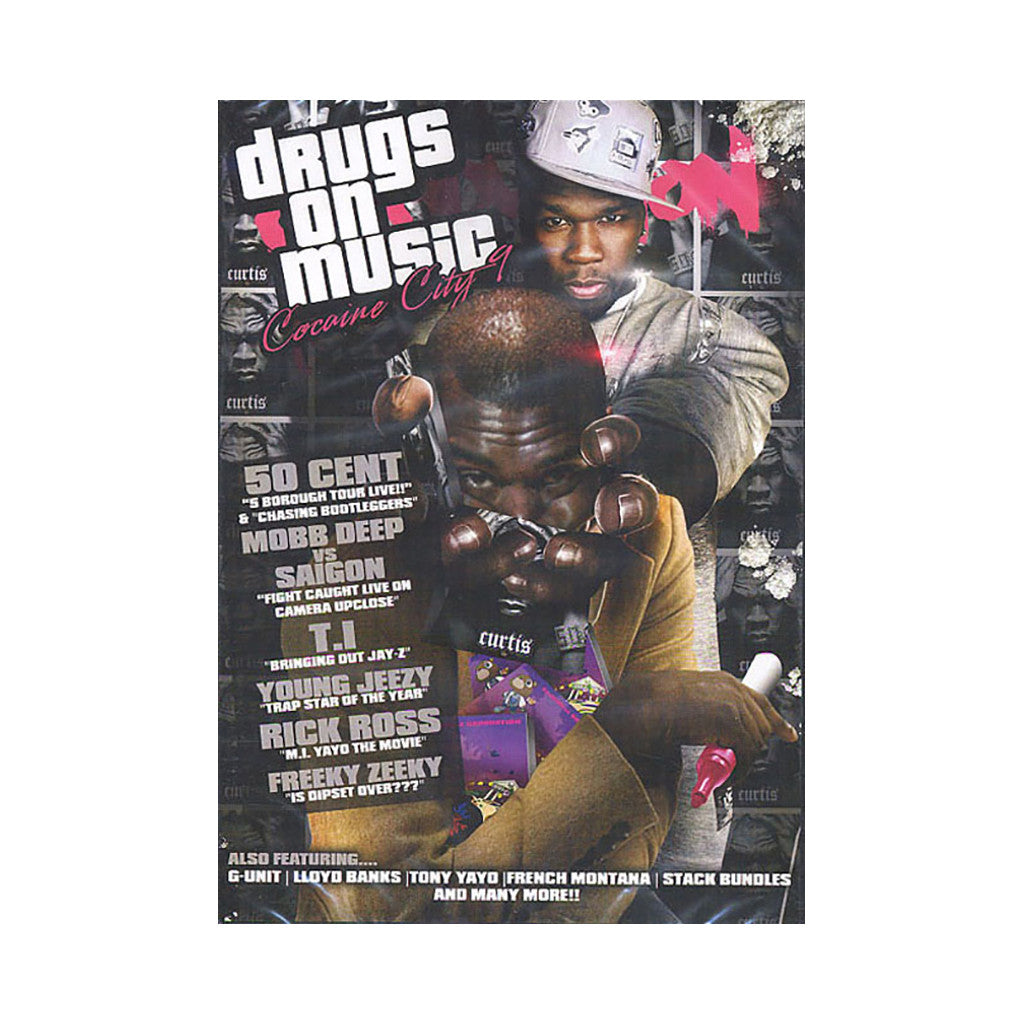 <!--020071218011206-->Cocaine City - 'Vol. 9: Drugs On Music' [DVD]