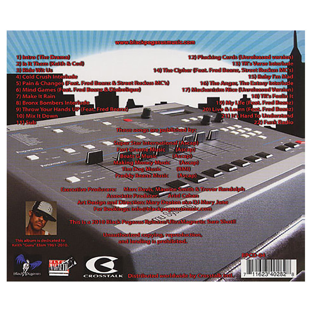 Ultramagnetic Foundation (TR Love & DJ Moe Love Present) - 'Ultra Laboratory Stories' [CD]