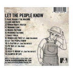 <!--020110906036826-->Radio Rahim w/ Panik - 'Let The People Know' [CD]