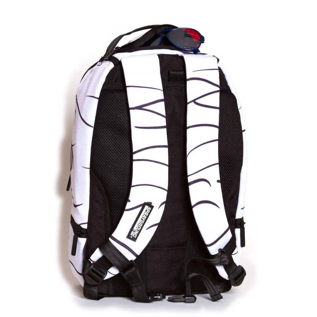 <!--2012081416-->Sprayground - 'Ninja's Got My Back' [(White) Backpack]