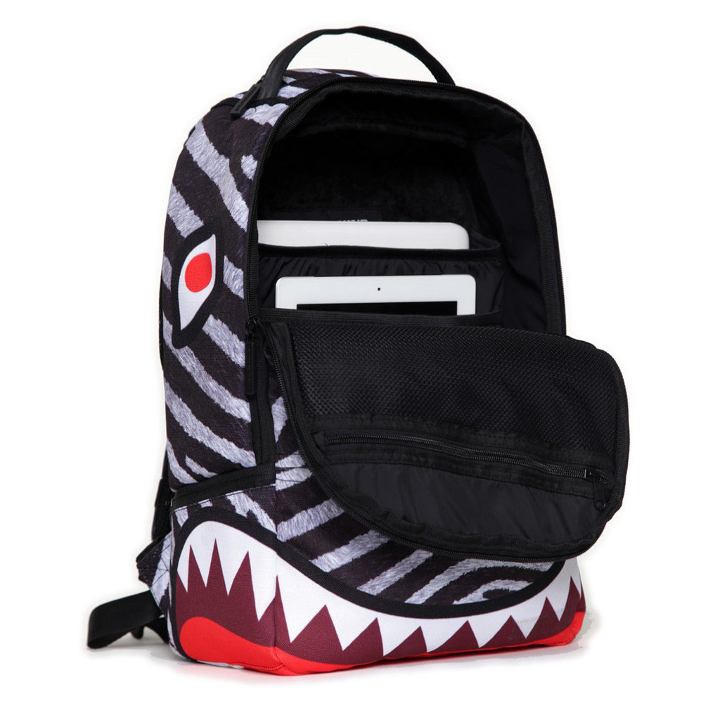 <!--020130521056629-->Sprayground - 'ZebRaw' [(Multi-Color) Backpack]