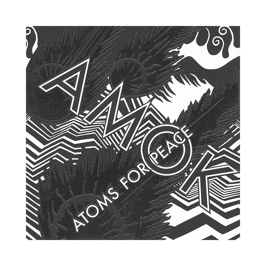 Atoms For Peace - 'AMOK (Deluxe Edition)' [CD]