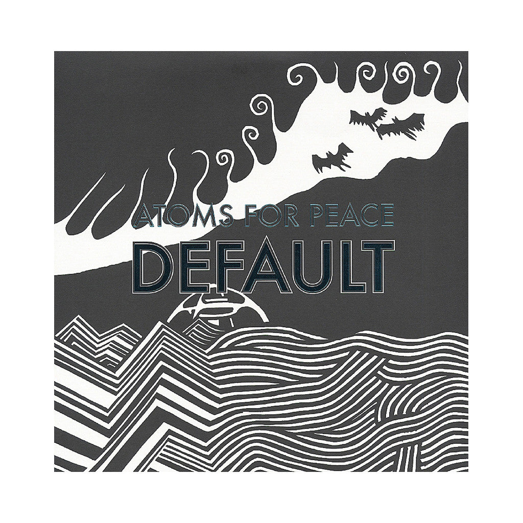"Atoms For Peace - 'Default/ What The Eyeballs Did' [(Black) 12"" Vinyl Single]"