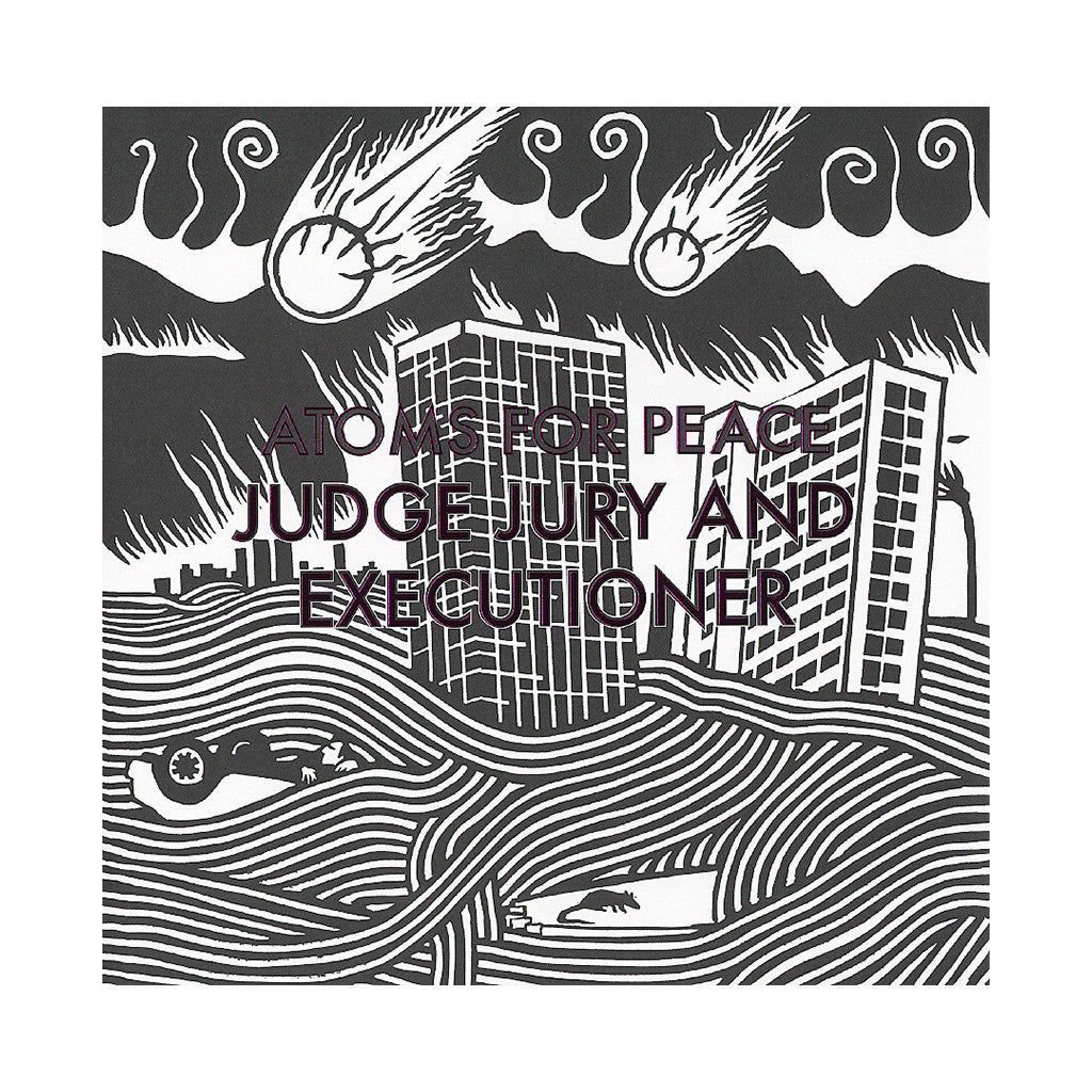 "<!--020130319053990-->Atoms For Peace - 'Judge Jury And Executioner/ S.A.D.' [(Black) 12"""" Vinyl Single]"