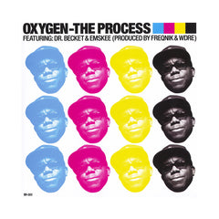 "<!--020130305053960-->Oxygen - 'The Process/ Guillotine 16' [(Black) 7"" Vinyl Single]"