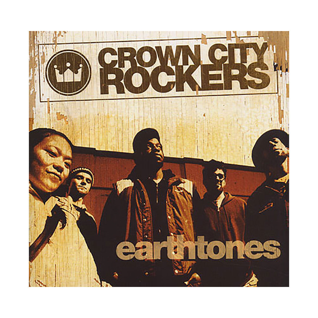 <!--020041228004102-->Crown City Rockers - 'Earthtones' [(Black) Vinyl [2LP]]