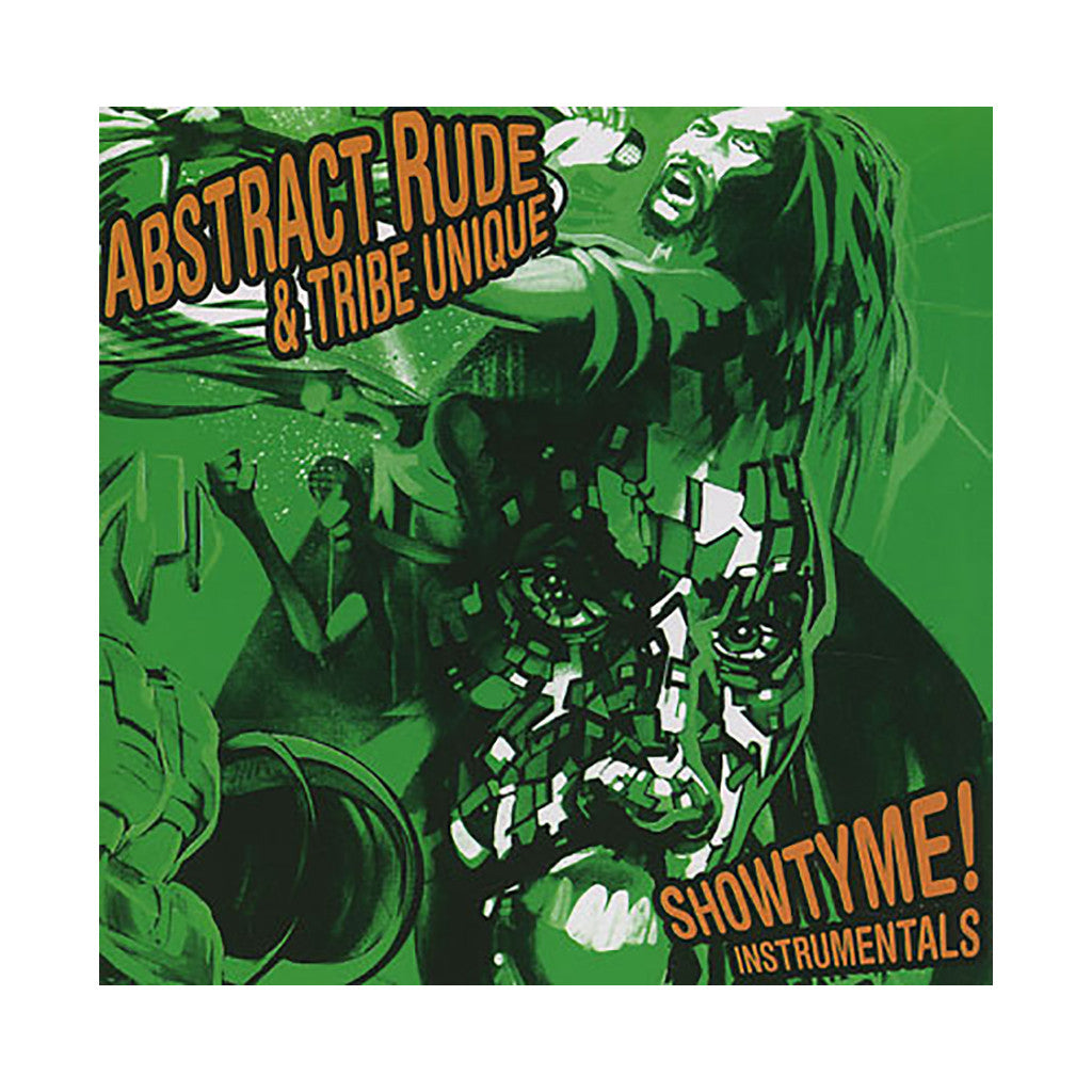 Abstract Rude & Tribe Unique - 'Showtyme (Instrumentals)' [CD]