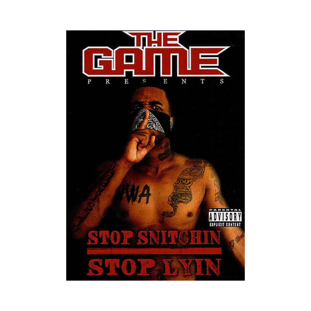The game i told you [stop snitchin stop lyin] youtube.
