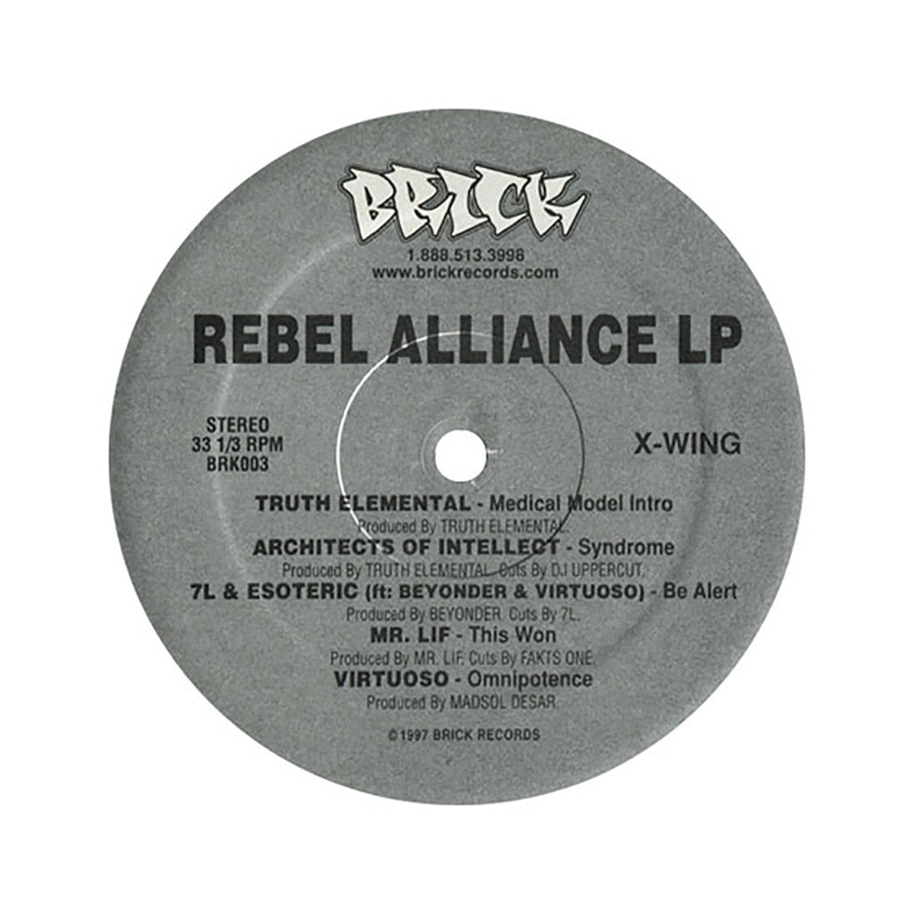 <!--119970101011420-->Various Artists - 'Rebel Alliance LP' [(Black) Vinyl LP]