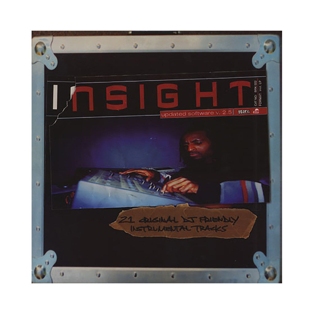 <!--120020430012116-->Insight - 'Updated Software v. 2.5 (Instrumentals)' [(Black) Vinyl LP]