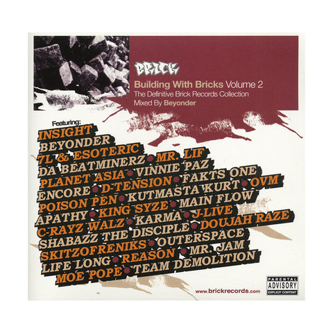 Various Artists (Mixed By: Beyonder) - 'Building With Bricks Vol. 2: The Definitive Brick Records Collection' [CD]