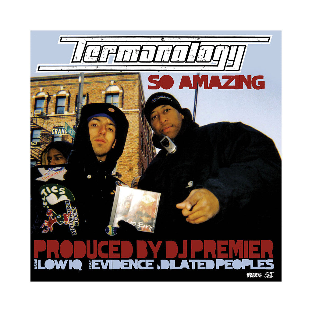 "<!--020070911010283-->Termanology - 'So Amazing/ Low IQ' [(Black) 12"" Vinyl Single]"