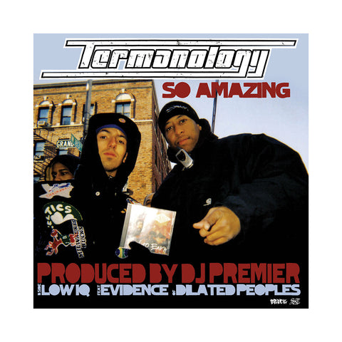"Termanology - 'So Amazing/ Low IQ' [(Black) 12"""" Vinyl Single]"